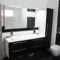 moderna kopalnica les temna