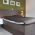 postelja moderna temna